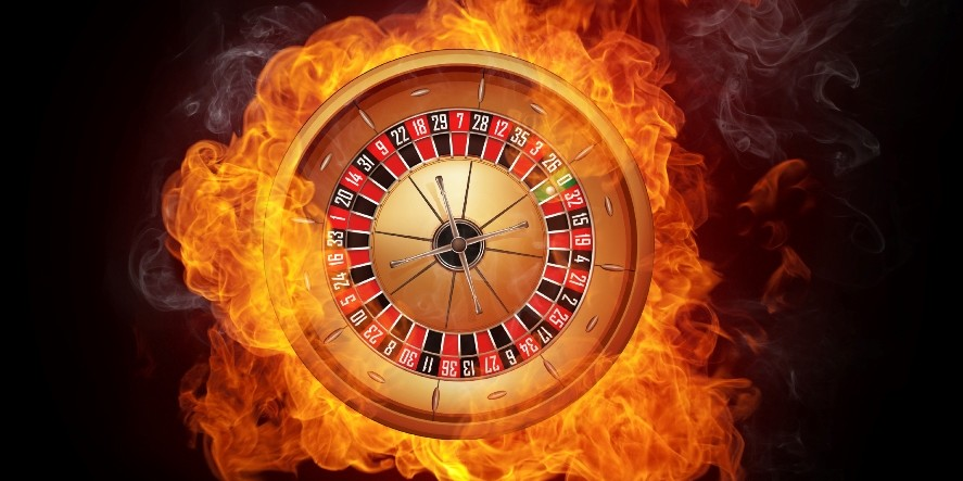 roulette on fire