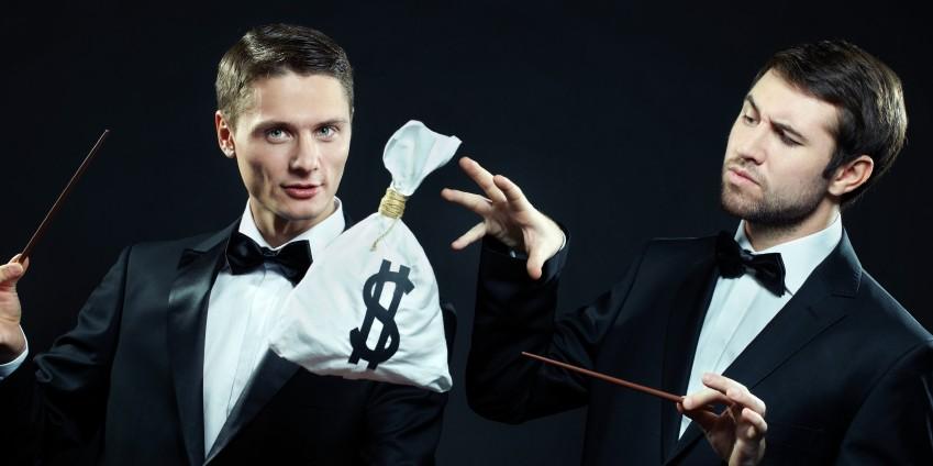 gambling magicians