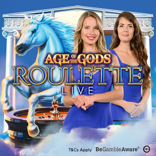 age of the gods roulette live banner
