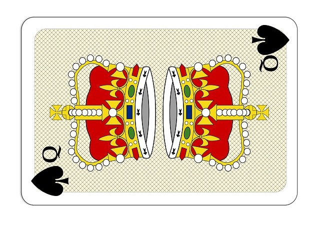 Queen Casino Card