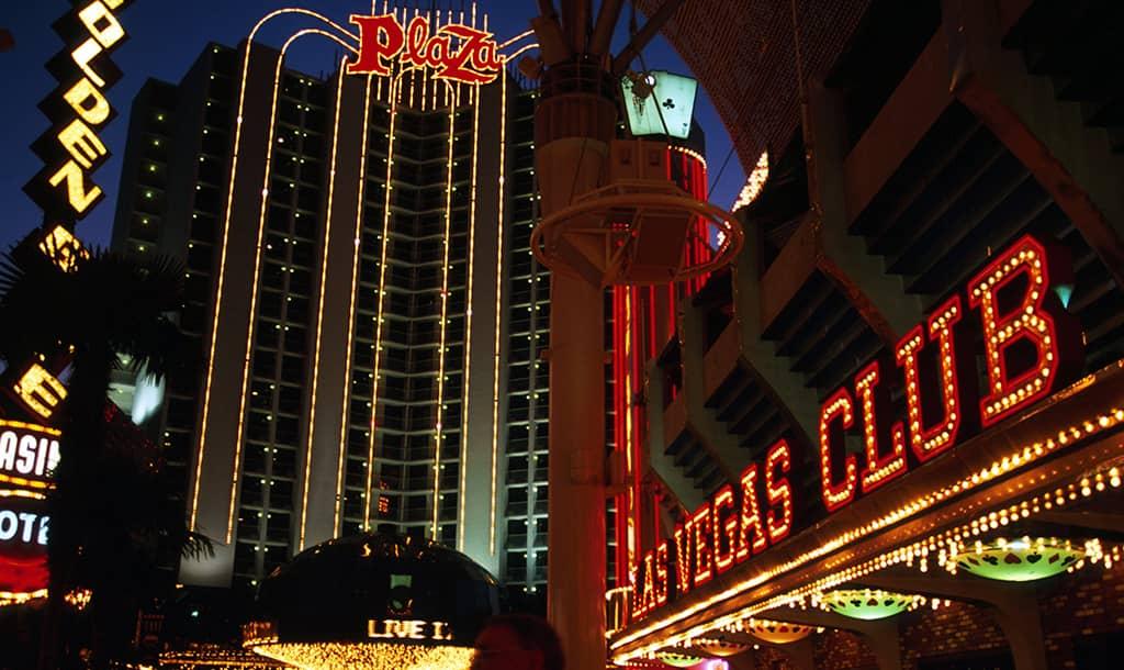 Las Vegas during the night