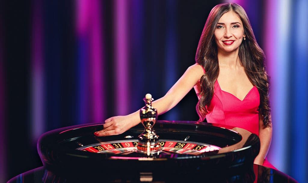 live casino dealer- woman
