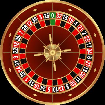 european roulette wheel visual