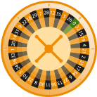 what is the traditional roulette wheel visual
